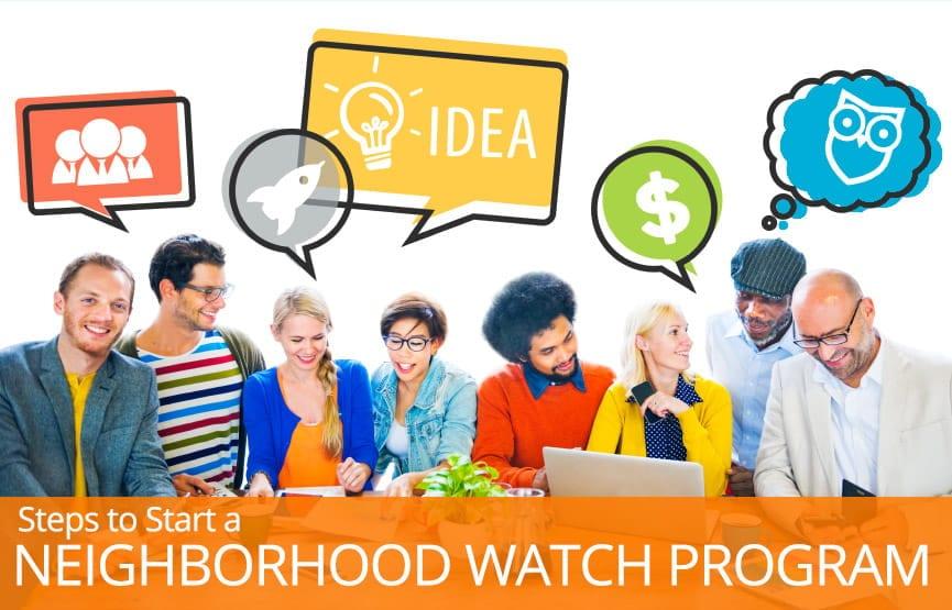 How to start your own neighborhood watch program