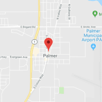 map image of Palmer, AK