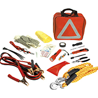 performance tool deluxe roadside emergency assistance kit