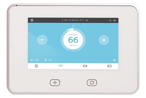 photo of Vivint Home Security panel