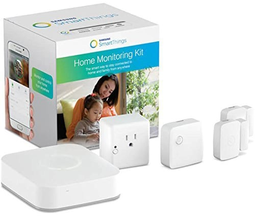 product photo of Samsung SmartThings pacakge