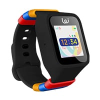 black watch with rainbow colors