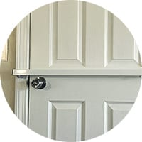 door bar pro steel door security bar