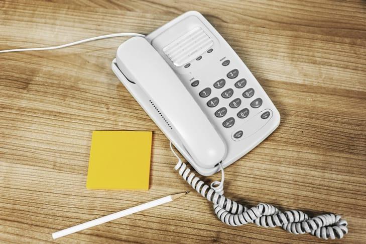 phone and phoneline