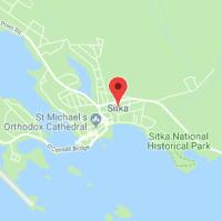 map image of Sitka, AK