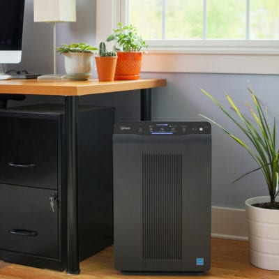 air purifier in home office