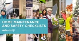 home maintenance and safety checklists