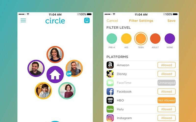 Circle screenshots