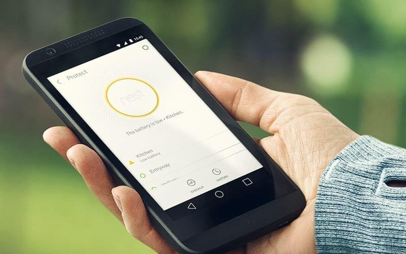 photo of Nest Smoke Alarm App