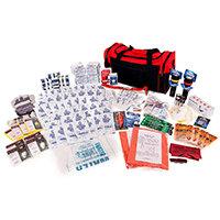 Survival Prep Warehouse 4-Person Survival Kit Deluxe