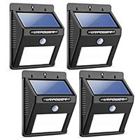 URPOWER LED Solar Motion Sensor Light