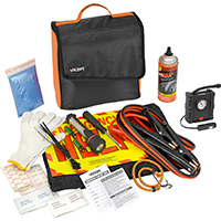 victory covered emergency road kit
