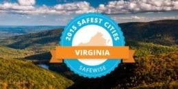 Safest cities in Virginia 2015