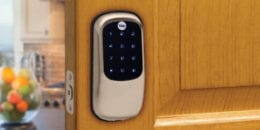 yale deadbolt touchless keypad